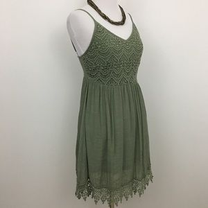 Poetry Dresses - Poetry | Green Lacey Sundress